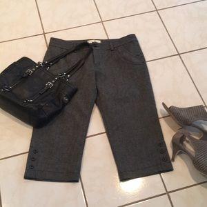 NWOT wool cropped pants